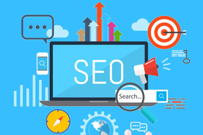 seo marketng blue