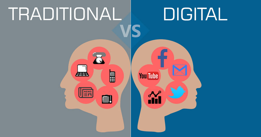 digitalmarketing vs traditional