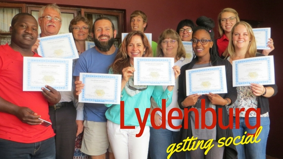 Lydenburg getting social