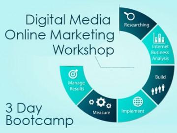 3 Day Digital Media & Marketing Workshop [Bootcamp]