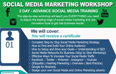 2 Day Social Media Marketing Workshop